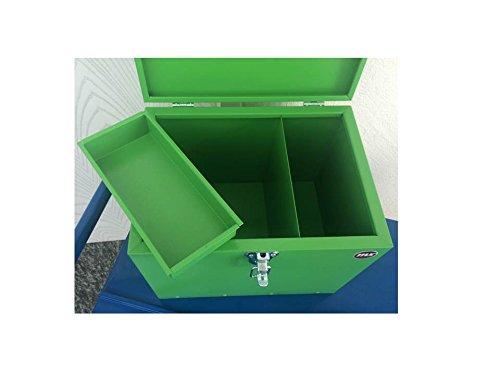 Pferde-Putzbox grün; Putzkiste für Pferde; Pferde-Putzbox; Putzkiste; Putzkasten; Alu-Putzbox, für Reiter und Ihre Pferde entwickelt - 8