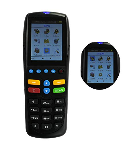 Lowest Prices! FixtureDisplays Wireless Barcode Reader Scanner Inventory Management Import Export To...