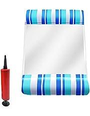 2021 Water Hangmat Recliner Opblaasbaar Drijvend Bed Zwembad Drijvende Zwemmen Matras Zee Zwemmen Ring (Color : 13)