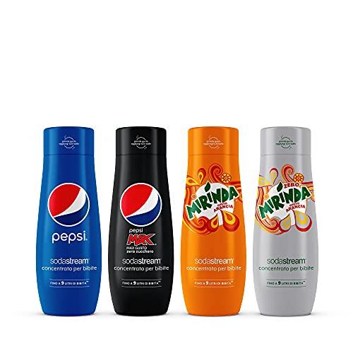 Sodastream Mix Concentrati X Pepsi + Mirinda Bundle, 1760 Millilitro
