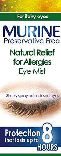 Murine Natural Relief for Allergies Eye Mist for Long Lasting Protection from a Range of Allergies...