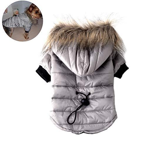 EisEyen Hundejacke Hund Wintermantel Winterjacke Sweatshirts Puffer Hund Mantel Welpen Kleine Pet Warme Kleidung
