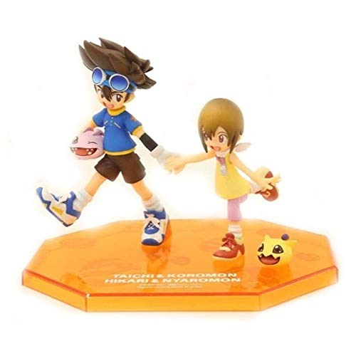 Anime Figura de acción muñeco, Digimon Aventura Aventura Figura Figura Coleccionable Modelo Carácter PVC Figuras Estatua Toys Desktop Ornamentos