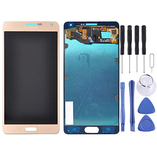 CAPOOK -LCD Display + Touch Panel for Galaxy A7 / A7000 / A7009 / A700F / A700FD / A700FQ / A700H / A700K / A700L / A700S / A700X(Black) DIY (Color : Gold)