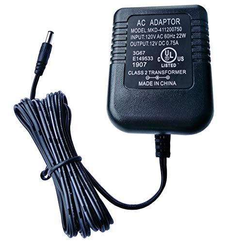 UpBright New AC/DC Adapter Compatible with Briggs and Stratton B4177GS B & S B&S BS Battery Charger 12V 750mA 12VDC 0.75A 12.0V Class 2 Transformer Power Supply Cord Cable Wall Charger Mains PSU