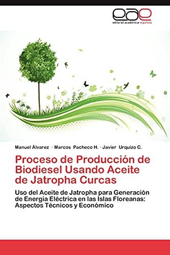Proceso de Produccion de Biodiesel Usando Aceite de Jatropha Curcas