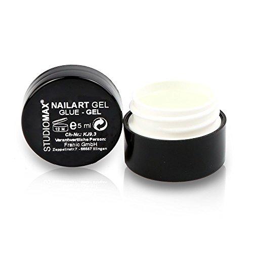 Studio Max Nail Art Glue Gel 5 ml