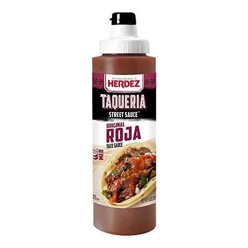 HERDEZ Taqueria Street Sauce Roja 9 Ounce (Pack of 8)