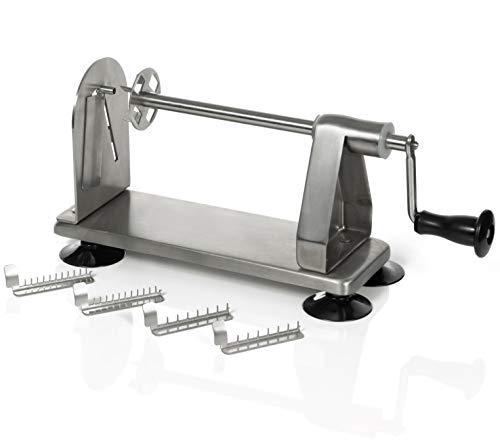 Homarden 3 Blade Stainless Steel Vegetable Spiral Slicer – Industrial Quality Veggie Spiralizer
