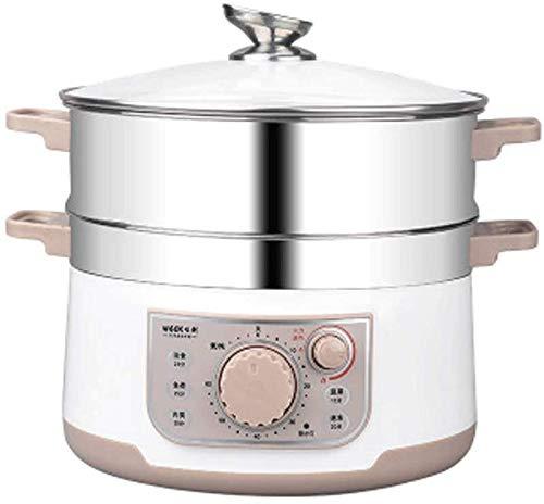 Vaporizador eléctrico, Temporizador de 60 Minutos, la Cocina Saludable de 3 Capas...
