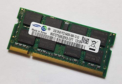 samsung hynix micron 2GB  1x 2GB  800MHz  PC2 Bild