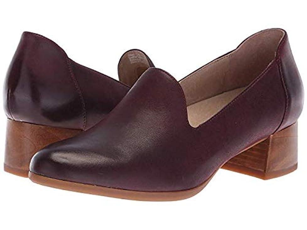 誇り根絶するエッセイレディースローファー?靴 Preston Wine Burnished Nubuck (24-24.5cm) Regular [並行輸入品]