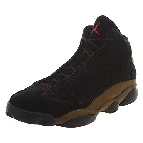 Jordan Air 13 Retro Olive Men Lifestyle Retro Basketball Casual Shoes - 9.5
