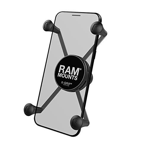 RAM Mount Ram-Hol-UN10BU Halterung für persönliche Kommunikation, aus Edelstahl, Schwarz