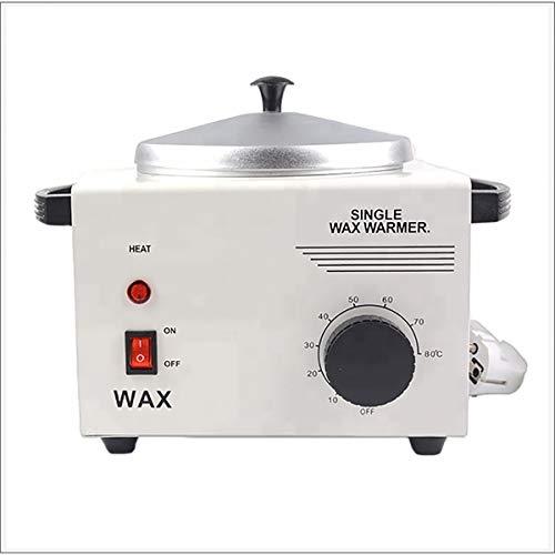 MOKY Pot Simple Cire épilatoire Chaud Machine, contrôle de température Intelligent, Cire Dure de Haute qualité Bean Wax Machine pour Mains et Pieds Spa épilateur épilation Outil