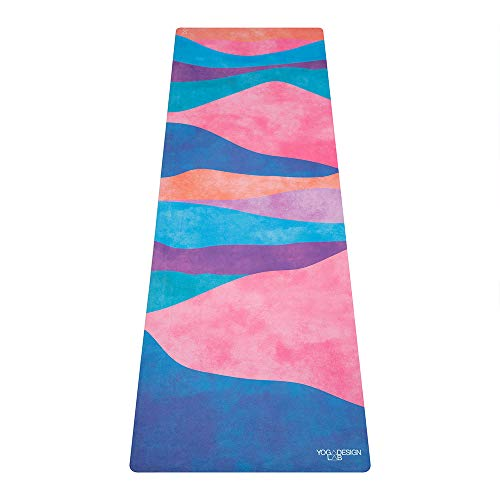 Yoga Design Lab La Esterilla de Yoga Combo 1.5mm. Dos en Uno | Antideslizante | Plegable | Ecológica | Lavable a la Máquina (Mexicana)