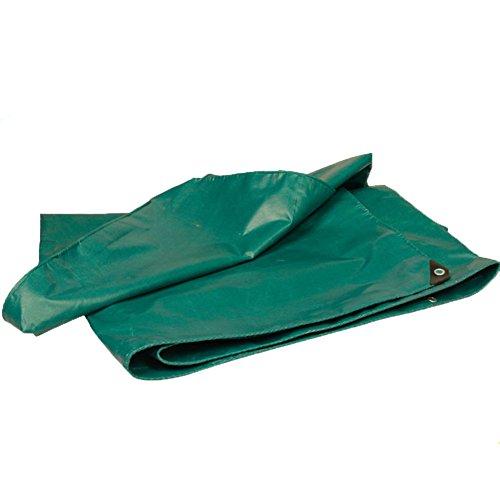 QIANGDA Planen Abdeckhaube Schutzplane Super Wasserdicht Sonnencreme PVC Kein Geruch Einfaches Falten, -600 G/M², Dicke 0,6 Mm, Mehrfachgröße Optional, Größe Anpassbar...