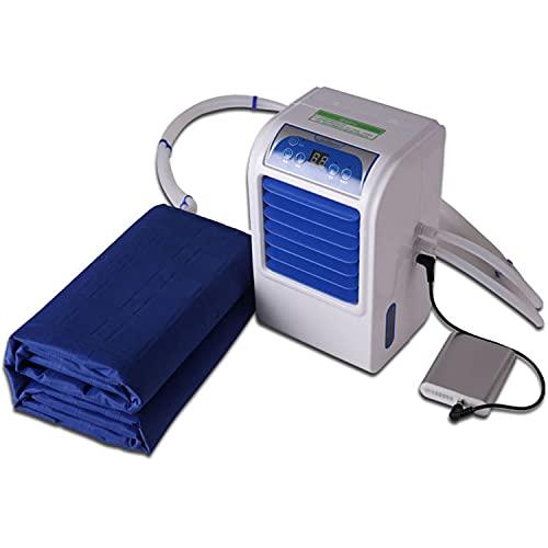 YYDSJFM Refrigerador de colchón, alfombrilla de refrigeración, ahorro de energía, seguro para verano, para dormir, refrigerado por agua, colchón refrigerado por agua (63 x 54 pulgadas)