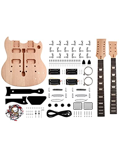 DIY Electric Guitar Kit - Double Neck 6 String 12 String Guitar | The Fret Wire