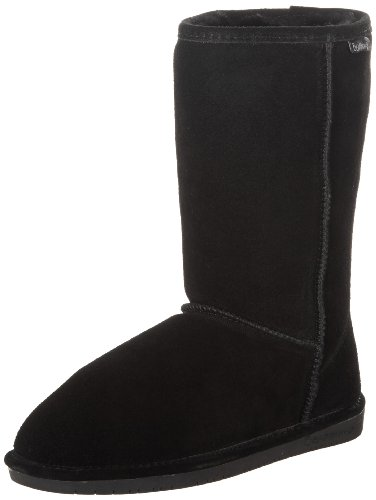 BEARPAW Women's Emma Fashion Boot, Black 8.5 M US