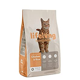 Amazon Brand – Lifelong – Complete Dry Cat Food (Adult Cats)
