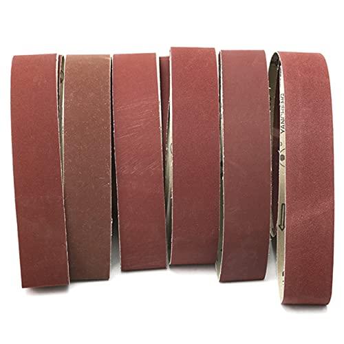 Schleifband 6 Stück/Schleifbänder/180240320400600800 GRIT/Schleifpapier/2