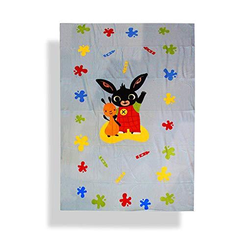 Plaid COPRILETTO Bing Bunny Caldo Invernale Letto Singolo Una Piazza cm 150 x 210 POL