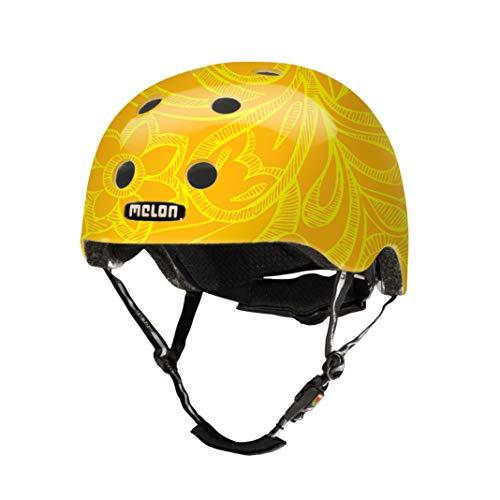 MELON Urban Active Fahrradhelm, Mellow Yellow, XXS-S