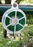 Vilmorin - Alambre de hierro plastificado (100 m, VL, para ligaduras), color verde