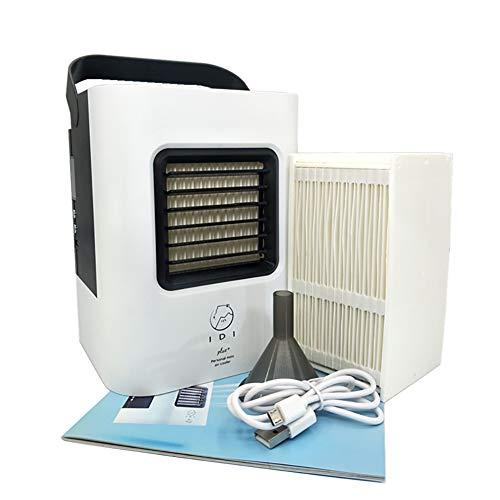 KTLF-LEI Aire Acondicionado Portátil-Climatizador Evaporativo, 3-en-1 Mini...
