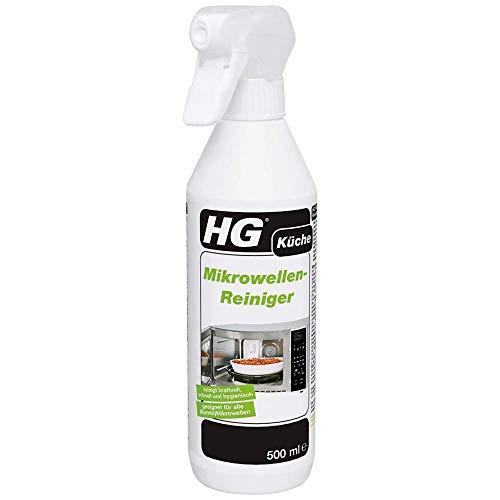 HG Mikrowellen-Reiniger 2er Pack (2x 500 ml) – Mikrowellen Reiniger - Zur Mühelosen Entfernung von Fett und Angebackenen Essensresten - In (Kombinations-) Mikrowellen