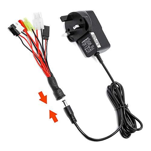 HOBBYMATE RC Car Battery Charger 4.8v 7.2v 8.4v 9.6v Nimh NiCd Battery...