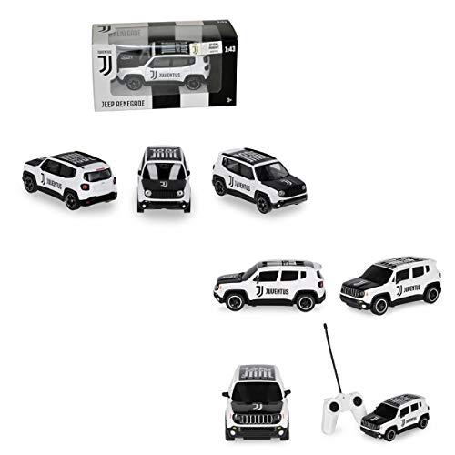 Kit Tifoso Jeep Juventus Radiocomandata + Mini Jeep Juventus Prodotto Ufficiale