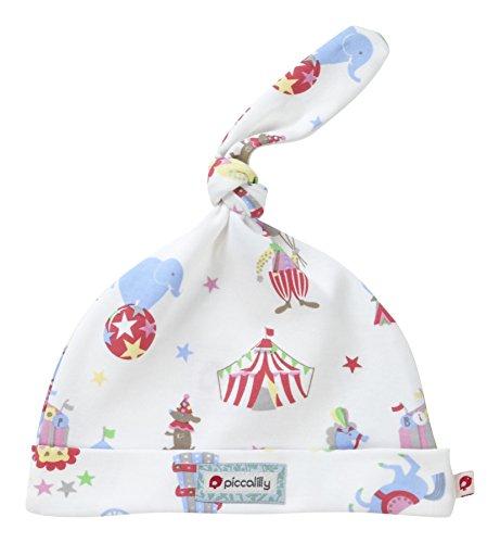 Piccalilly Coton Bio Multicolore Unisexe rétro Circus Impression Chapeau noué - - 6-12 mois