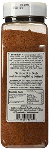 Bad Byron's Butt Rub Barbeque Seasoning BBQ Rubs (26 Oz)