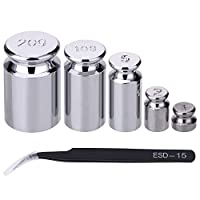 Calibration weight set: come with 5 pieces of calibration weight (includes 1 g, 2 g, 5 g, 10 g, 20 g), and 1 piece of tweezer Function of calibration gram: metric calibration weight for calibrating the weights, or electronic balances and scales Good ...