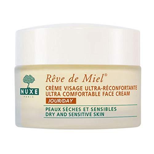 Nuxe Reve de Miel Bálsamo Facial Ultra-Reconfortante Piel Seca Sensible, 50ml