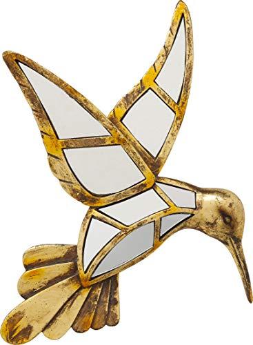 KARE Design 51220 - Decoración Pared Hummingbird Mirror 32 cm, Multicolor