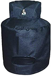 Heavy Duty Ventilated Propane Tank Cover for 30lb Tank Waterproof & Weather Resistant 12.5 x 12.5 x 24 inches (HZC141) (Bl...