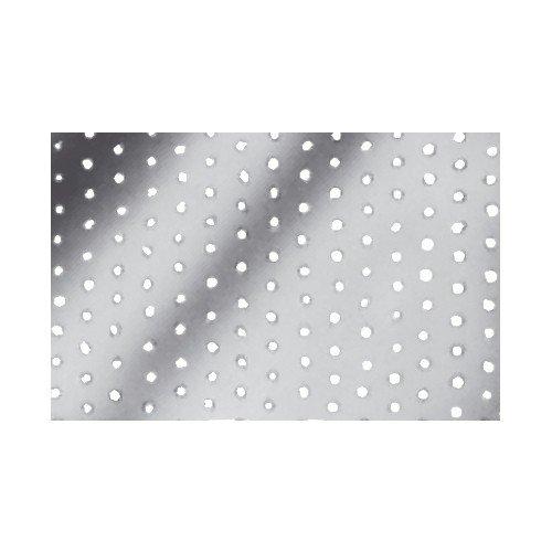SIMPSON Chapa Perforada (100 x 240 x 2.0 galvanizada), 100