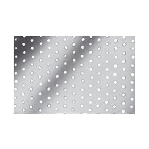 SIMPSON Chapa Perforada (100 x 240 x 2.0 galvanizada), 100 x 240 x 2