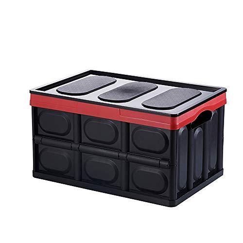 Kcakek Vouwen opbergdoos plastic opbergdoos met deksel Student Boeken Sorting doos met grote capaciteit Clothes Storage Box Office Supplies en Desktop Storage Boxes plastic opbergdoos