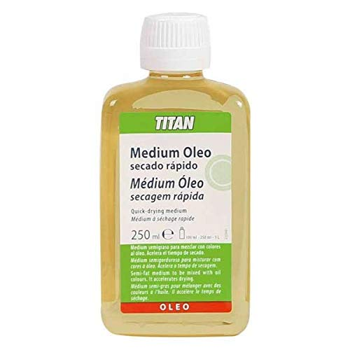 medium oleo secado rapido de 250 ml TITAN