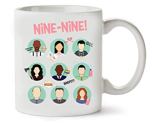 BakoIsland Brooklyn Nine-Nine Squad Klassische Teetasse Kaffeetasse