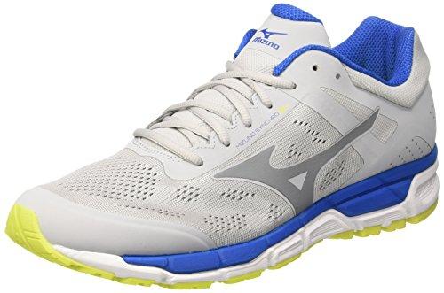 Mizuno Synchro MX, Zapatillas de Running para Hombre, (Micro Chip/Griffin/Directoire Blue), 45 EU