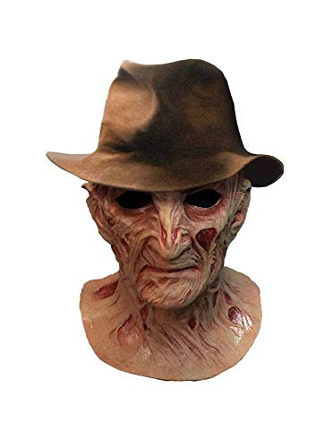 Trick or Treat Studios A Nightmare on Elm Street 4: The Dream Master Deluxe Latex-Maske mit Hut Freddy Krueger