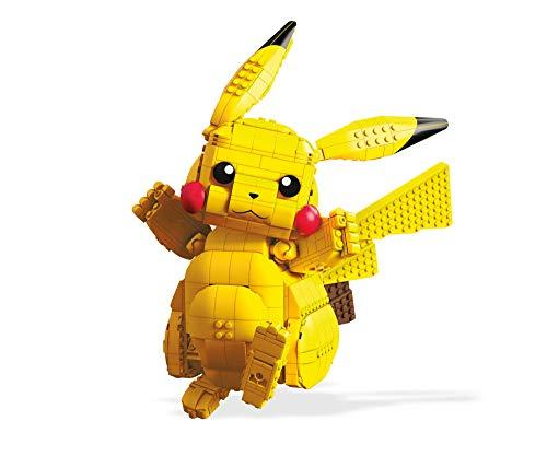 Mega Construx FVK81 Pokemon Jumbo Pikachu, Multi-Colour