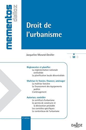 Droit de l'urbanisme - 8e éd.: Mémentos