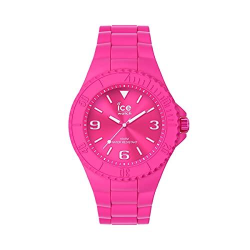ICE-WATCH - ICE generation Flashy pink - Rosa Damenuhr mit Silikonarmband - 019163 (Medium)