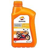 Repsol RP150W51 Moto Sintetico 2T Aceite de Motor, 1 L